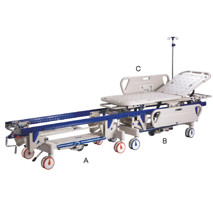 E-045 Connecting stretcher vehicle