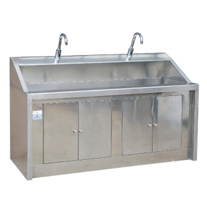 WCM-CC002 Stainless Steel Sensor Double Sink