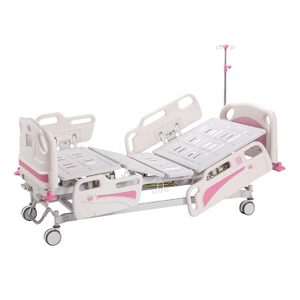 B-007 ABS luxury two function manual hospital bed
