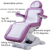 3 motors Folding Multifunctional Electric Facial Salon Massage chair Beauty Bed